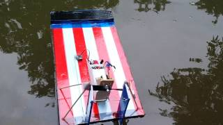 Scratch Built Rc Swamp Boat (air Boat)