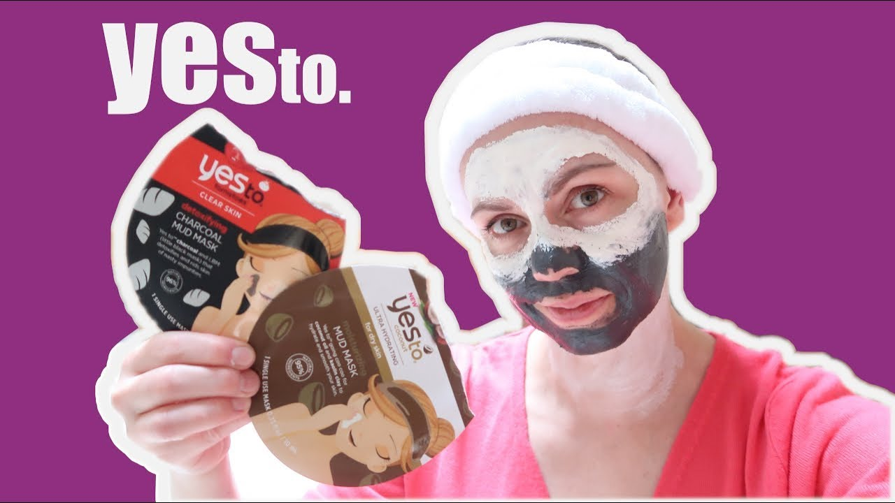 YesTo - tomatoes and coconut natural facemask