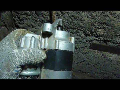 Как снять стартер на Лада Ларгус на двигателе К4М с 16 клапанами
