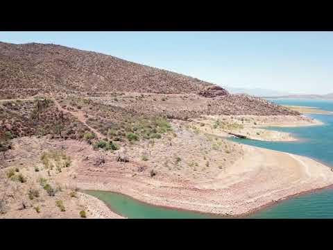 Roosevelt Lake - Gila County, AZ - Memorial Day 2018 - Mavic Pro Flyover