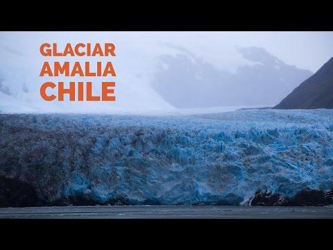 Glaciar Amalia - Chile - 4K