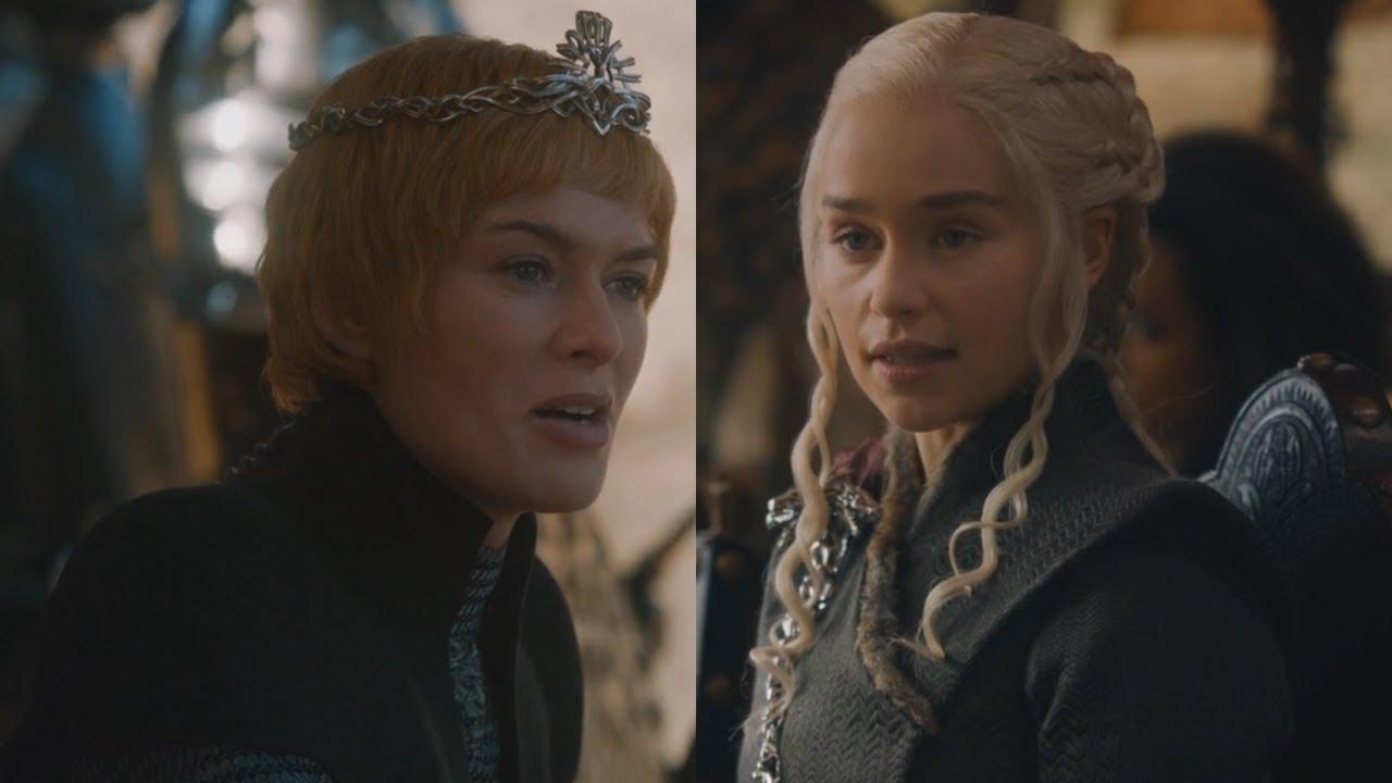 Download Dragonpit Meeting/Negotiation between Daenerys & Cersei   Game of Thrones 7x07