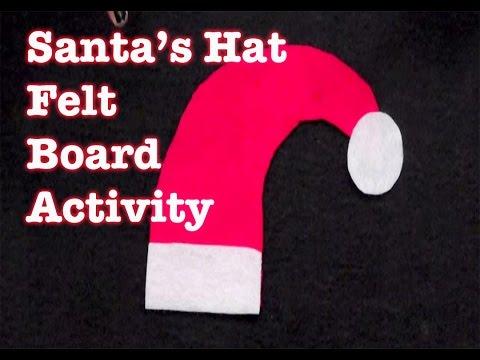 Christmas Songs for Children - Santa's Hat - LittleStoryBug