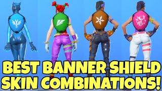30+ Best Fortnite Banner Shield Skin Combos..!
