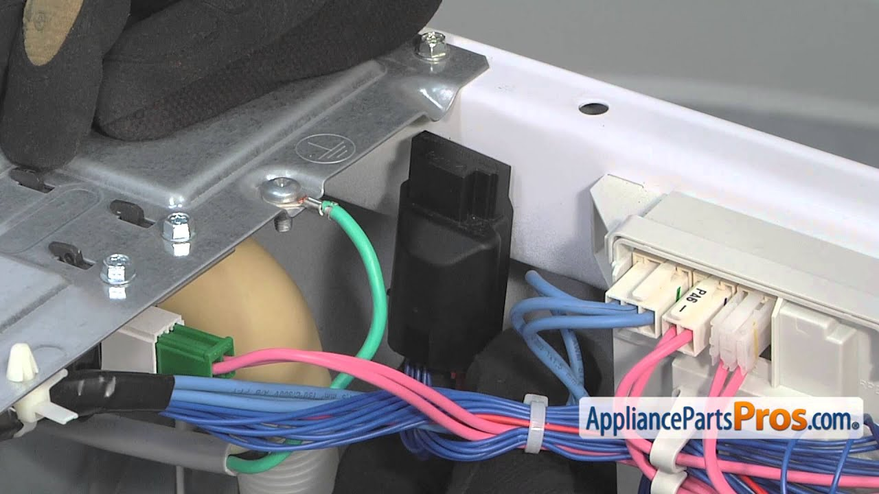 Washer Water Level Switch (part #WPW10415587)  How To Replace  YouTube
