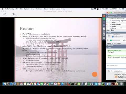Discussion on the history of the Bank of Japan Meetup