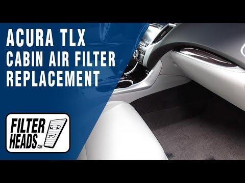 2016 acura mdx cabin filter