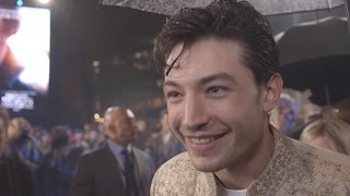 Ezra Miller Has His Own Mean Little Creature