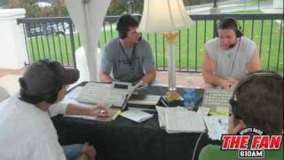 Panthers Training Camp: Connor & Barnidge Interviews