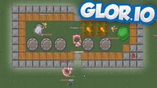 Glor.io - Ruling Empires & Riding Piggies? - Base Building IO Game - Glor.io Gameplay Highlights