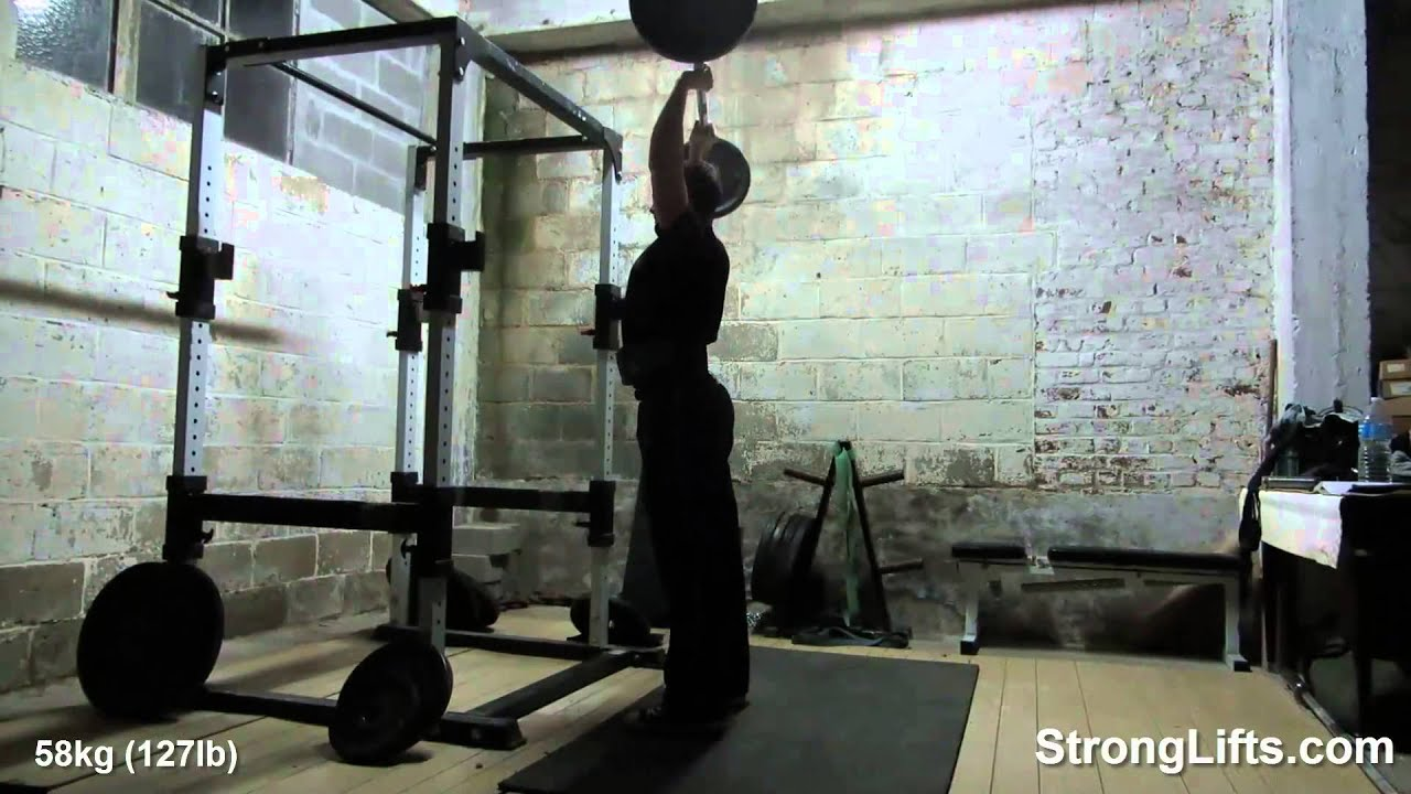 Stronglifts 5x5 Workout - Year of Clean Water