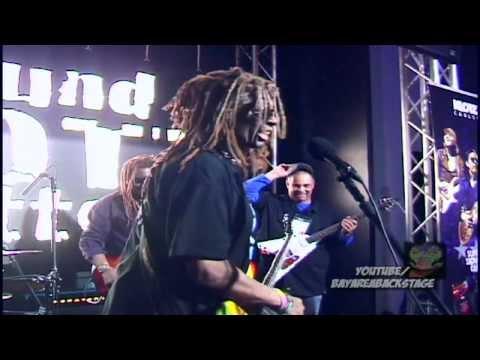 TM Stevens NAMM-Signature Cable Demo-Bay Area Backstage-Big Bass Jam 2014