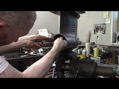 #2 Johnson Outboard Lower Unit Crack Repair/Rebuild