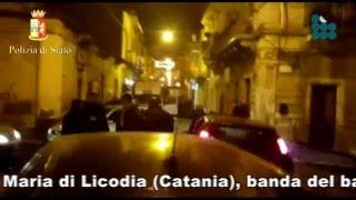 Catania, banda bancomat tenta rapina la notte di Natale. 4 arresti