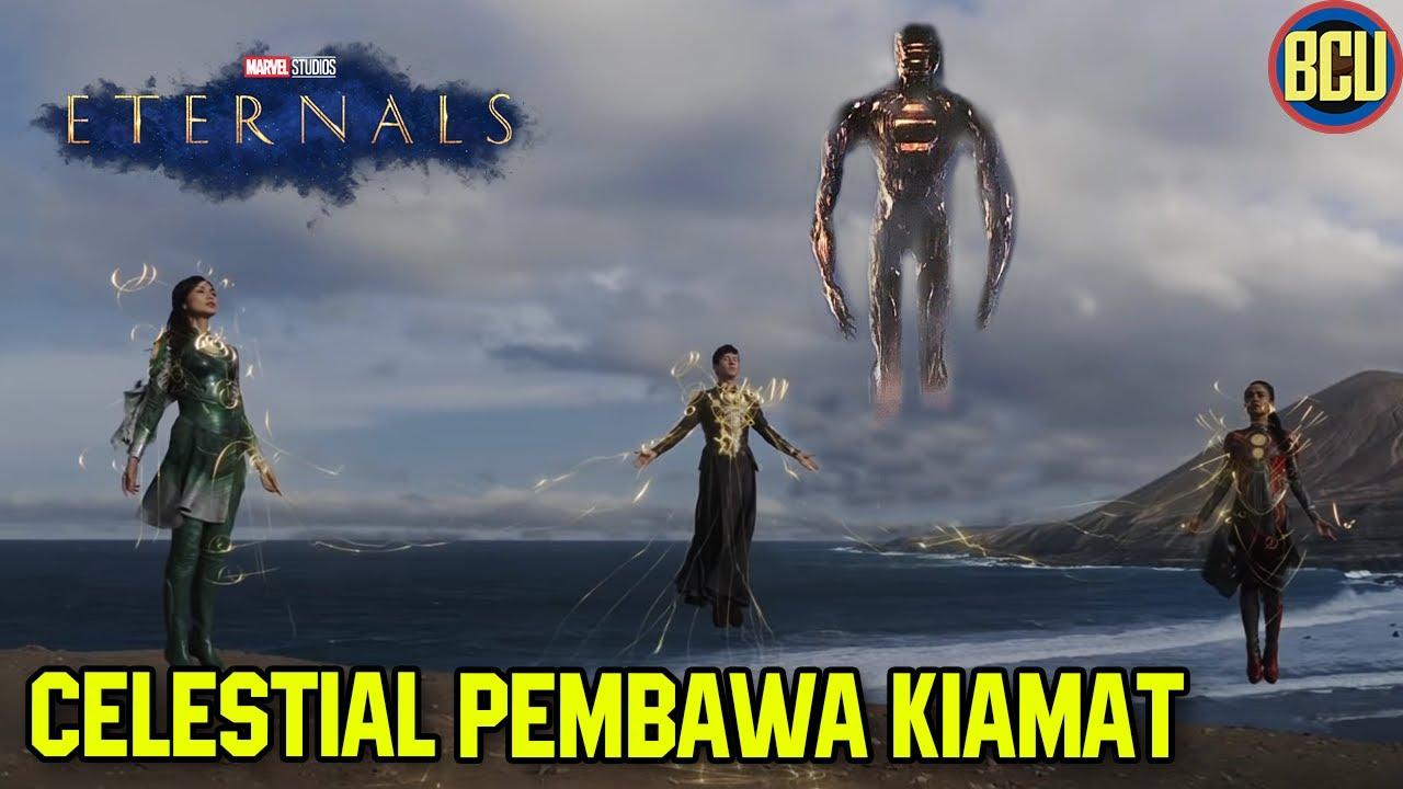 Download CELESTIAL AKHIRNYA DATANG, AWAL MULA KIAMAT BUMI !!   ETERNALS OFFICIAL TEASER TRAILER BREAKDOWN