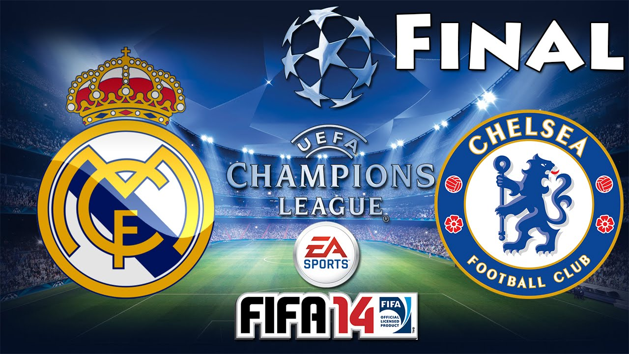 FIFA 14 UEFA Champions League FINAL Real Madrid C.F. vs ...