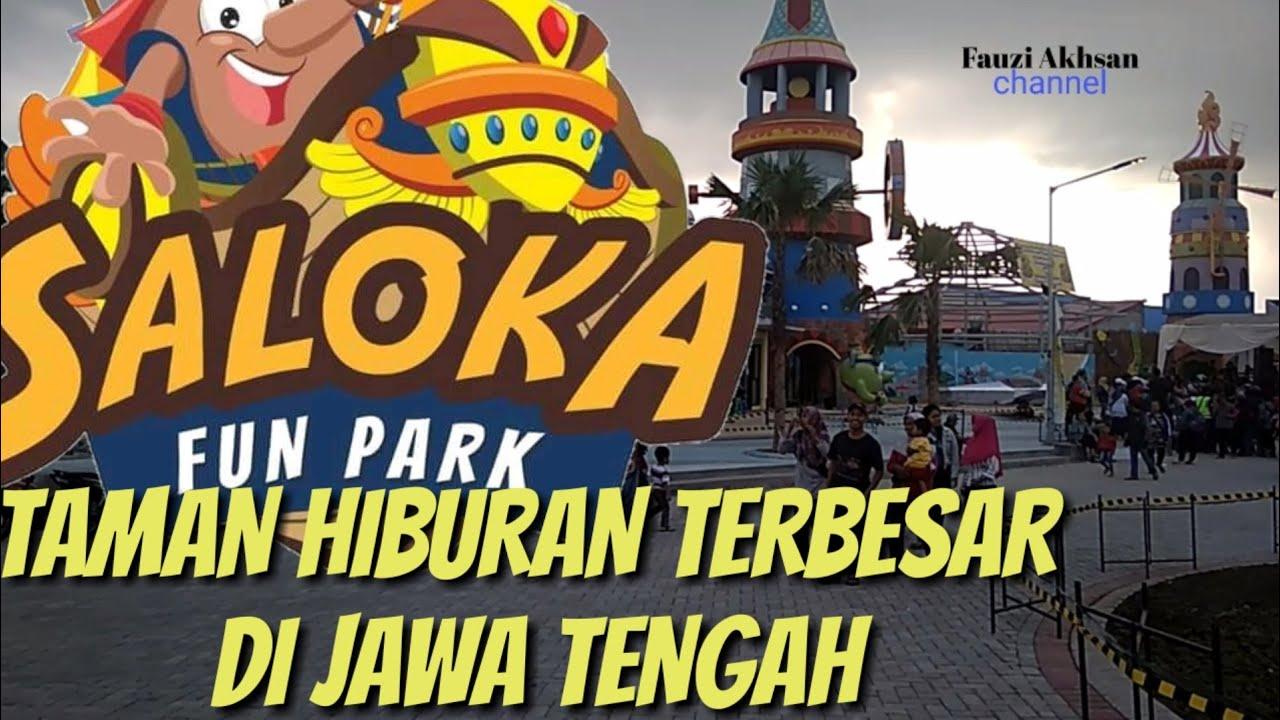 SALOKA FUN PARK Taman Hiburan Terbesar di Jawa Tengah (segera)