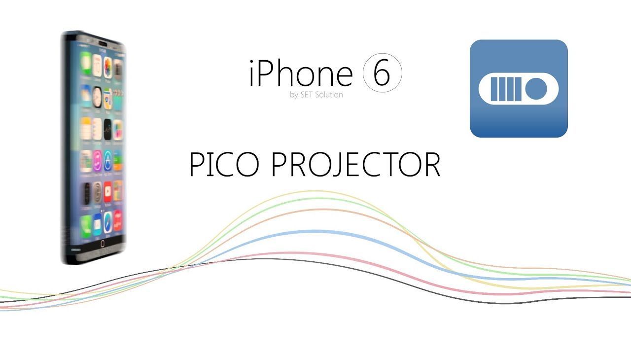 Iphone 6 projector youtube for Iphone 6 projector