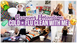 CLEAN WITH ME FALL 2019 COLD + FLU SEASON CLEANING MOTIVATION HOW TO SANITIZE + DISINFECT! BRIANNA K