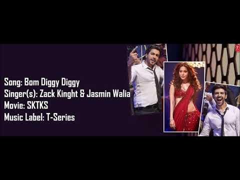 Bom Diggy Diggy - Lyrics With Translations (Zack Knight x Jasmin Walia)