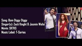 Gambar cover Bom Diggy Diggy - Lyrics With Translations (Zack Knight x Jasmin Walia)