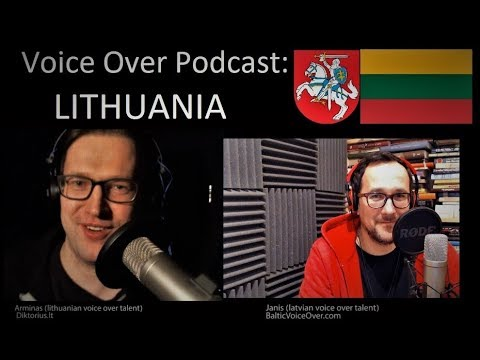 #InsideVoiceBusiness: Lithuania! Can one survive as VO artist? Money or hobby?