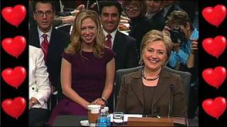 Love is in the Air for Hillary Clinton - Washington Sketch