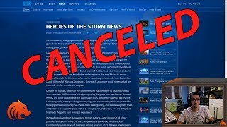 Blizzard STOPS Supporting Heroes of the Storm.. Are We Next?