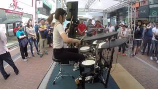 여자드러머 김미소 _미션임파서블 드럼 연주_ drummer _misokim_mission impossible(cover)