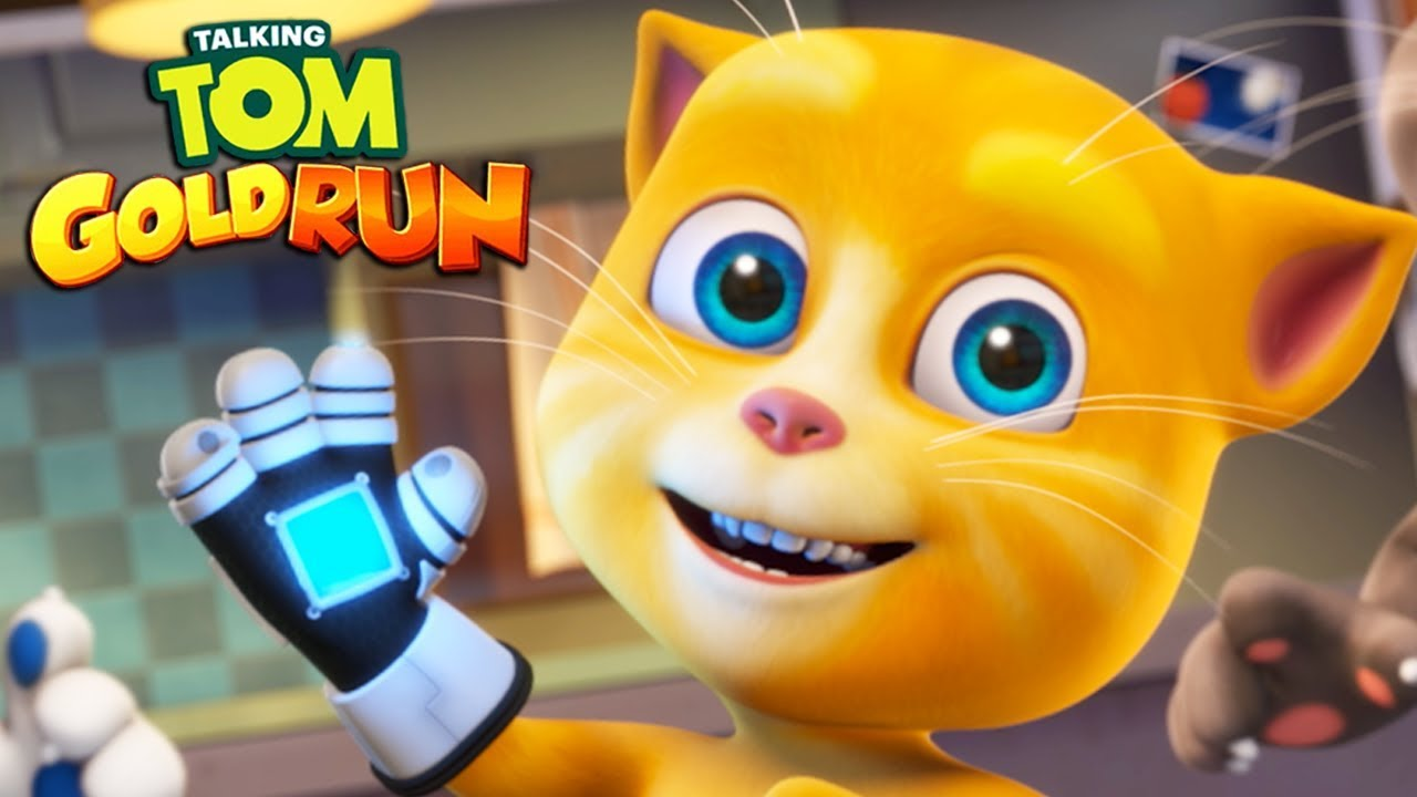 Talking Tom Gold Run GINGERS FOREST FUN UNILOKED Android