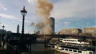 В Лондоне взорвали двухэтажный автобус на съемках нового фильма Джеки Чана