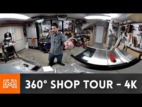 360˚ Shop Tour in 4K - I Like To Make Stuff