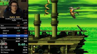 (44:52) Donkey Kong Country 2 any% speedrun
