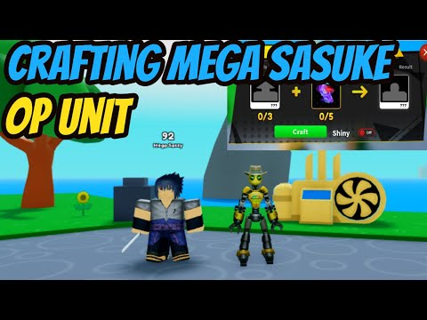 Sasuke Craft and Showcase !!! – Anime Fighters