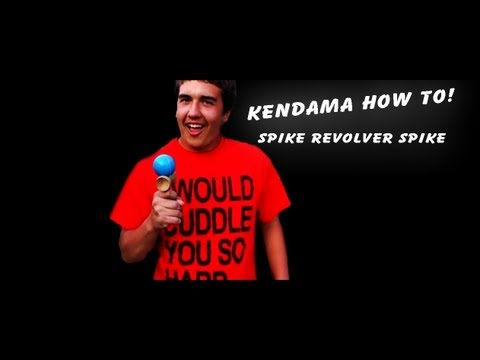 Kendama how to spike revoler spike