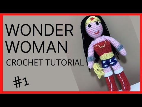 Wonder Woman Batman Superman Flash Aquaman Crochet superhero dolls ... | 360x480