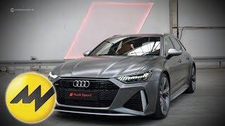 Der neue Audi RS6 Avant   Weltpremiere   Sound und alle Fakten   Motorvision