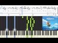 [Moana] Olivia Foa'i - Tulou Tagaloa (Synthesia Piano Tutorial w/Lyrics)