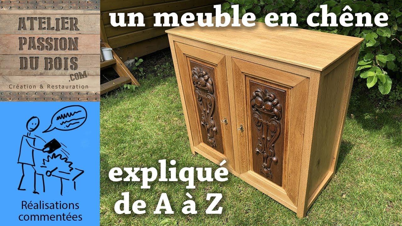 Ma Petite Fabrique De Meubles un petit meuble en chene (version longue avec toutes les explications)