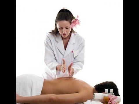 Порно массаж Девушкам делают массаж, а потом начинается