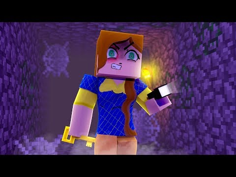 ESCAPING THE VOID! - MINECRAFT HELLO NEIGHBOR (Minecraft Roleplay)