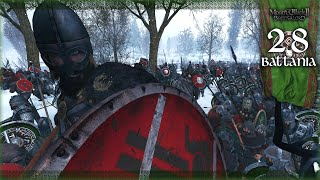 THE BATTLE OF 2,000 VALIANT SOLDIERS - Mount and Blade 2 Bannerlord (Battania) Campaign Gameplay #28