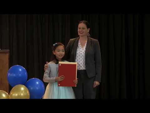 2018 Young Authors' Contest Winners Award Ceremony
