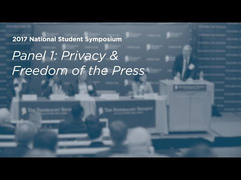 Privacy & Freedom of the Press