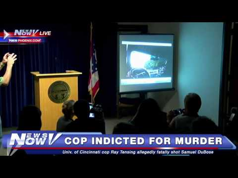 FNN: University of Cincinnati Cop Indicted on Murder Charges for Shooting of Samuel Dubose
