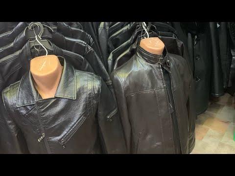 Мужской МЕХ КУРТКА #куртки #мужскаяодежда