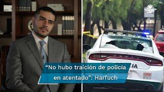 El Secretario de Seguridad Ciudadana, Omar García Harfuch, asegura que el Cártel Jalisco Nueva Generación no es una amenaza real para la CDMX y resalta los golpes dados a los grupos criminales, mismos que se han atomizado