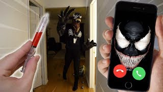 CALLING THE VENOM ON FACETIME AT 3 AM!! (HE'S REAL)