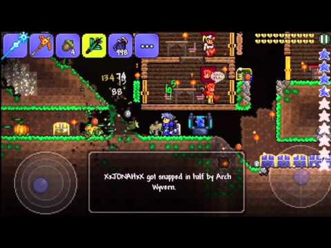 Terraria 1.2.4 Reds Wings 2016 [IOS/ANDROID]