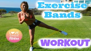 How to Use Resistance Bands - Easy & Fun Workout!